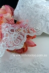 Bridal lace. Scallop. x 1 mtr