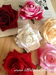 Large artificial rose. x 1