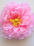 Artificial Flower - Pink Peony. 15cm. x1