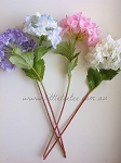 Artificial Flower - Hydrangea. Blue/purple