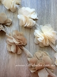 Peonies - neutral colours. 10 flowers.