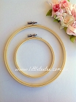Wooden Embroidery Hoop. 13cm & 20cm
