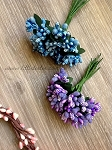 Mini Berry Bunch. x 1 bunch. Purple. Blue